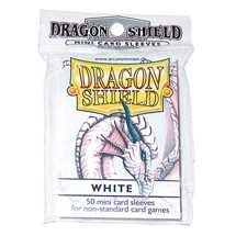 10105 Mini Deck Protector Bianco Dragon Shield (dim. Yu-Gi-Oh!)