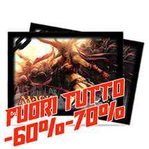 Deck Protector MTG Labirinto del Drago Orizzontale Rakdos (80) v3 FUORI TUTTO