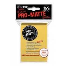 E-84268 Mini Deck Protector Pro-Matte Giallo (dim. Yu-Gi-Oh!) (60)
