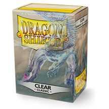 AT-10001 Dragon Shield Standard Sleeves - Clear (100 Sleeves)