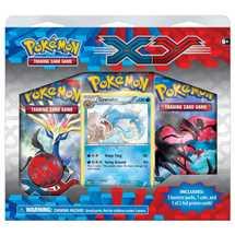 PKM Pokemon XY 3 Pack Blister in Inglese FUORI TUTTO