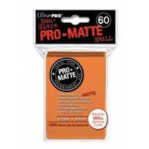 E-84266 Mini Deck Protector Pro-Matte Arancione (dim. Yu-Gi-Oh!) (60)