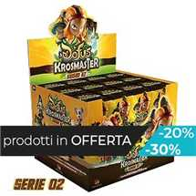 Krosmaster Arena - Dofus Esp. 2 - Display (24 Blindbox)  FUORI TUTTO