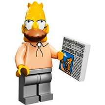 LEGO Minifigures The Simpsons Serie 13 - Grandpa Simpson