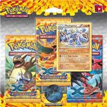 Pokemon 3 Pack Blister with Holo (Machamp) - XY Flashfire