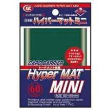 KMC1614 Mini Deck Protector Hyper Mat Green (dim. Yu-Gi-Oh!) (60)
