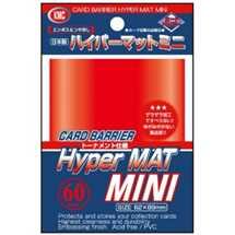 KMC1607 Mini Deck Protector Hyper Mat Red (dim. Yu-Gi-Oh!) (60)