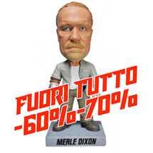 Funko Wacky Wobbler: The Walking Dead - Merle Dixon Bobble Head Figure 7-inch