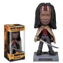 Funko Wacky Wobbler The Walking Dead Michonne 7-inch Bobble Head Figure