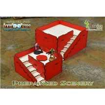 BAI000043 Prepainted Q-Building Pack (Red & White)