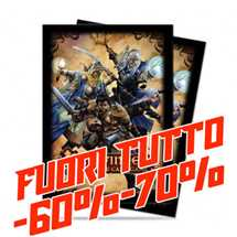 E-84350 Standard Sleeves - Pathfinder Adventure Card Game (50 Sleeves) FUORI TUTTO