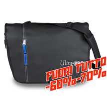 E-84437 Album Tracolla  Gamers Bag - Black Dragon Artwork - Blue