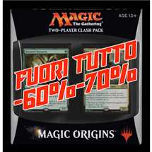 Two-Player Clash Pack Origins in Inglese FUORI TUTTO