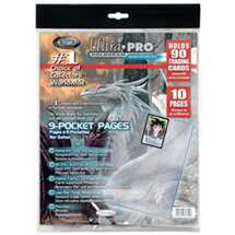 E-81359 9-Pocket Pages (11 Hole) Refill Pack (10 Pages)