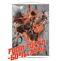 E-84745 Force of Will Wall Scroll - Dark Arla, the Shadow Wing FUORI TUTTO
