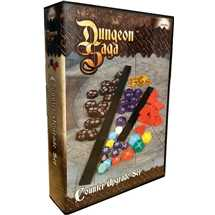 Dungeon Saga: Acrylic Counter Upgrade Set