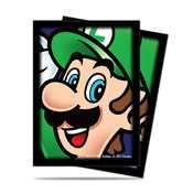 E-84667 Super Mario: Luigi Deck Protector sleeves 65ct (ottobre)