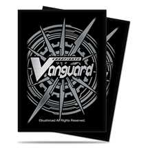 E-84527 Mini Deck Protectors CF Vanguard Silver Card Back