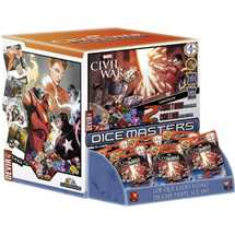 Marvel Dice Masters - Civil War Gravity Feed Display (90 Packs) Italiano