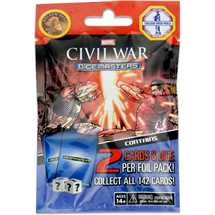 Marvel Dice Masters - Civil War Gravity Feed Booster Pack Italiano