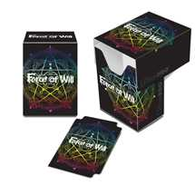 E-84849 FOW Force of Will Official Deck Box Full View Magic Circle