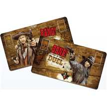 Bang! The Duel Player Mats