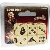 Zombicide - Black Plague Bone Dice