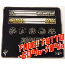 E-86314 Segnapunti Abacus Life Counter for Magic: The Gathering